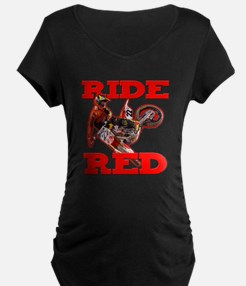 Ride Red 2013 Maternity T-Shirt