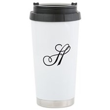 Champagne Monogram H Travel Mug