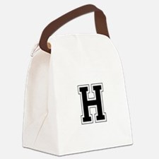 Collegiate Monogram H Canvas Lunch Bag
