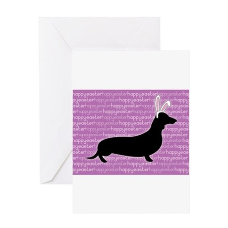 doxie-ecard Greeting Cards