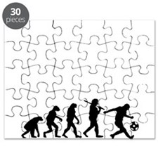 Evolution of the soccer player Puzzle