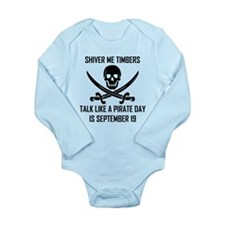 Talk Like A Pirate Day Body Suit