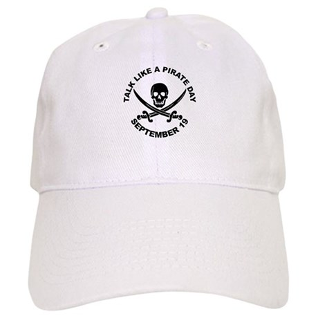 Talk Like A Pirate Day Baseball Cap