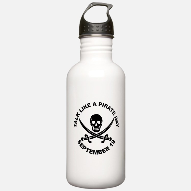 Talk Like A Pirate Day Water Bottle