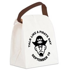 Talk Like A Pirate Day Canvas Lunch Bag