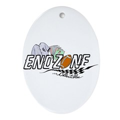 ENDZONE COLLECTIBLES Oval Ornament