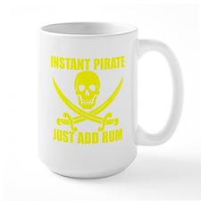 Yellow Instant Pirate Mug