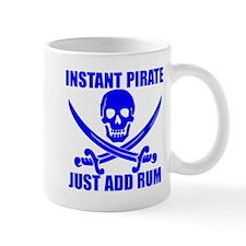 Blue Instant Pirate Mug