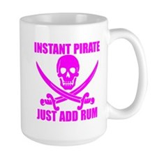 Pink Instant Pirate Mug