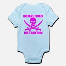 Pink Instant Pirate Body Suit