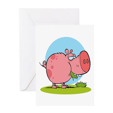 Cute piggy eating - photo#3