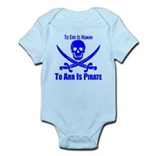 To Arr Is Pirate Blue Body Suit