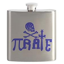Pi-rate Blue Flask