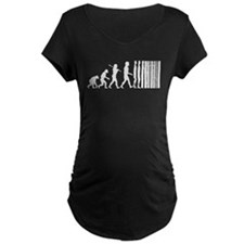 Transcendent Man Evolution Maternity T-Shirt