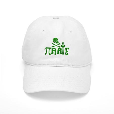 Pi-rate Green Baseball Cap