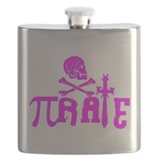 Pi-rate Pink Flask