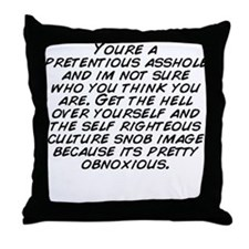 Im pretty Throw Pillow