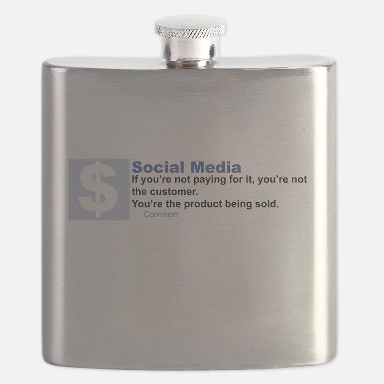 Social Media Flask