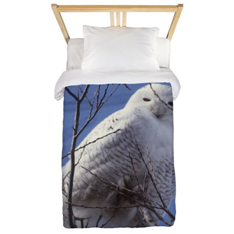 Snowy White Owl Twin Duvet