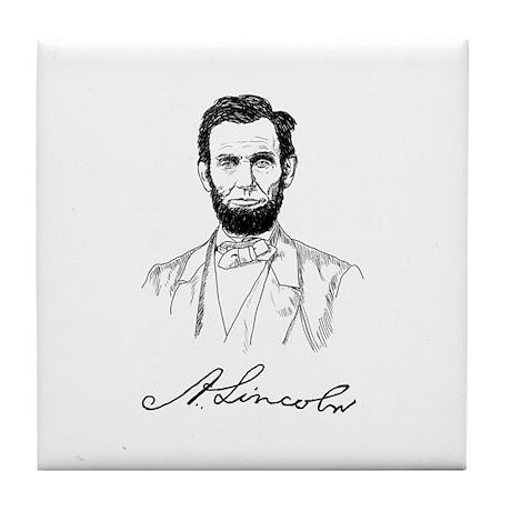 ABRAHAM LINCOLN Tile Coaster
