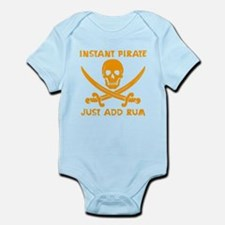 Instant Pirate Orange Body Suit