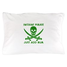 Instant Pirate Green Pillow Case