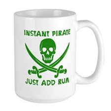 Instant Pirate Green Mug