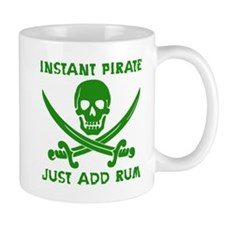 Instant Pirate Green Mug