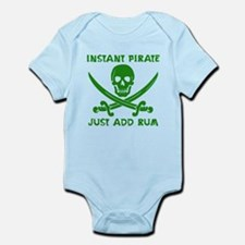 Instant Pirate Green Body Suit