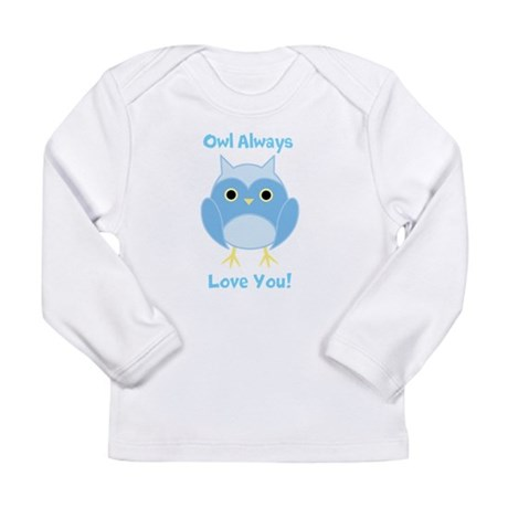 Owl Always Love You-Blue Infant T-Shirt