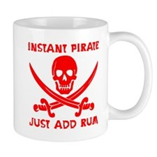 Instant Pirate Red Mug