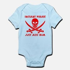 Instant Pirate Red Body Suit