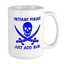 Instant Pirate Blue Mug