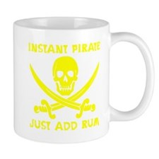 Instant Pirate Yellow Mug