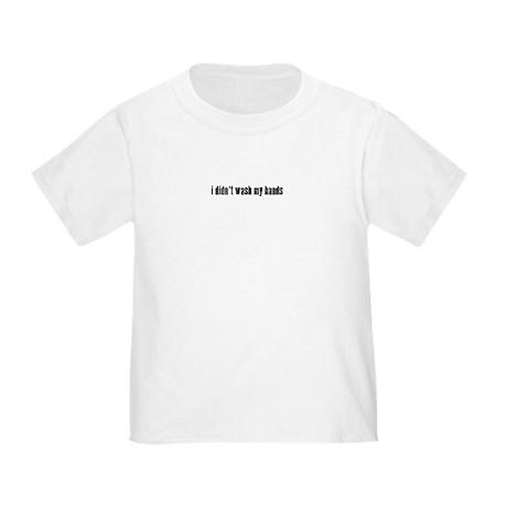 Germs & Kooties Toddler T-Shirt