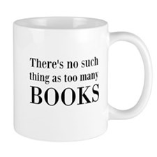 Too Many Books Mug