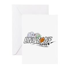 ENDZONE BOXER Greeting Cards (Pk of 10)