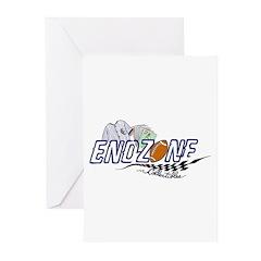 ENDZONE BIRTHDAY Greeting Cards (Pk of 10)