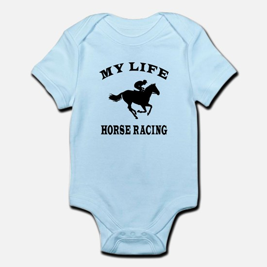 My Life Horse Racing Infant Bodysuit