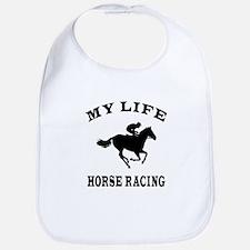 My Life Horse Racing Bib