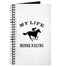 My Life Horse Racing Journal