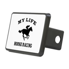 My Life Horse Racing Hitch Cover