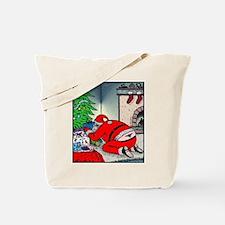 Santas tramp stamp Tote Bag