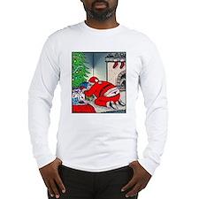 Santas tramp stamp Long Sleeve T-Shirt