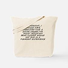Funny Hindsight Tote Bag