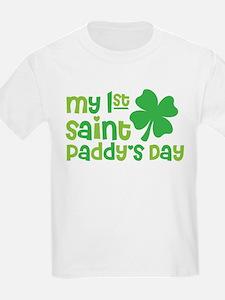 My 1st Saint Patricks Day T-Shirt