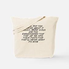 Cute Worried Tote Bag