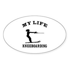 My Life Kneeboarding Decal