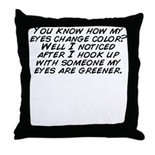 Unique Color change Throw Pillow