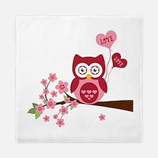 Owl LOVE Queen Duvet
